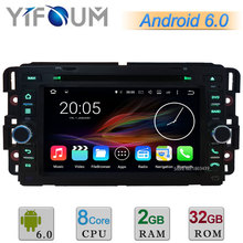 Android 6 Окта основные 2 ГБ RAM 32 ГБ ROM Dvd-плеер Автомобиля радио Стерео GPS Для GMC Yukon Сьерра Chevrolet Avalanche Equinox HHR Tahoe