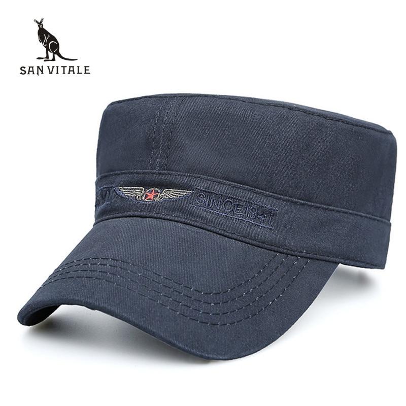 dff62b4d1e102 Hats   Caps Men US Army Gorras Para Hombre Classic Style Man Vintage Black  Luxury Brand