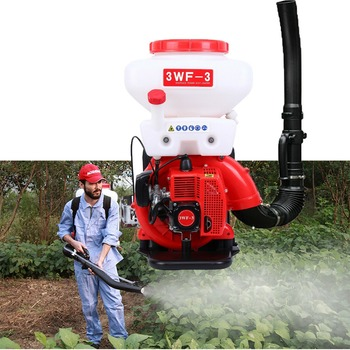 (Ship from USA) Agricultural Mist Duster Sprayer 14L Gasoline Powered Cycle Knapsack Backpack Blower 3WF-3  - buy with discount