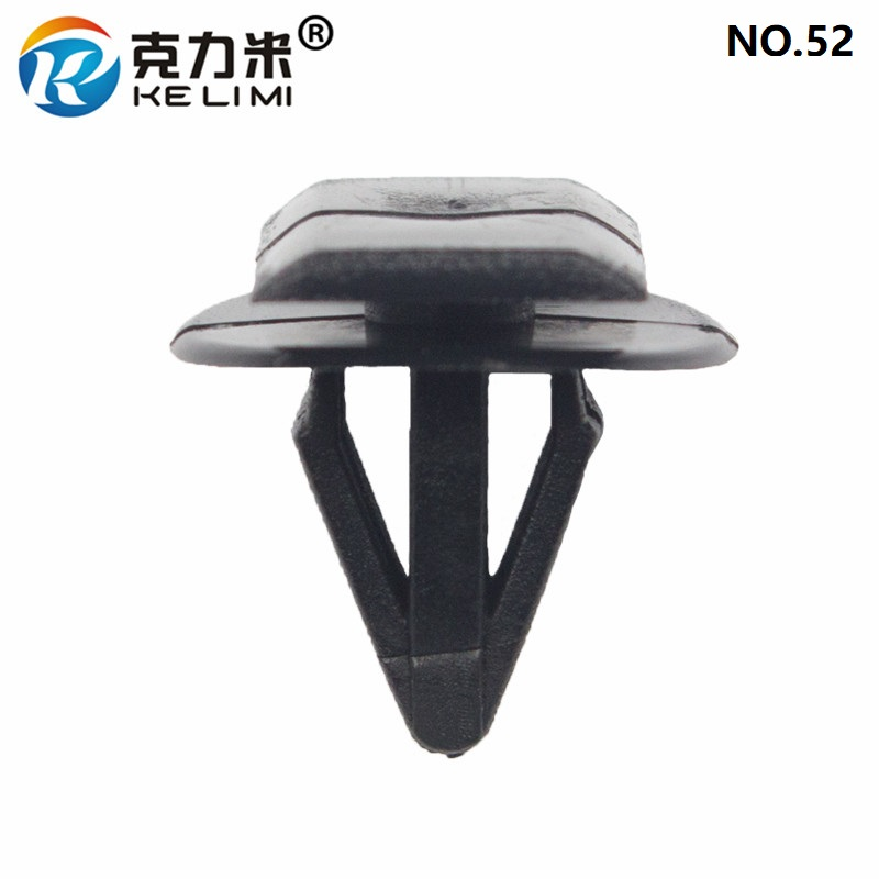KE LI MI Auto Black Fastener Clips Retaining Door Guard Plate Car Universal in Auto Fastener Clip from Automobiles Motorcycles