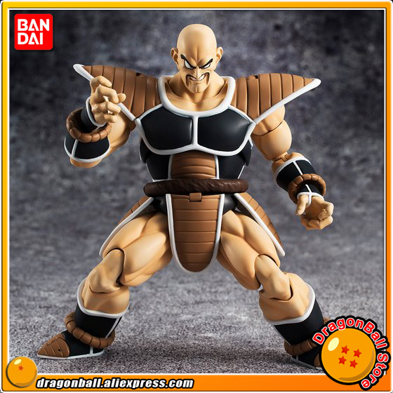 Japan Anime Dragon Ball Z Original BANDAI Tamashii Nations S.H. Figuarts / SHF Exclusive Action Figure - Nappa genuine bandai exclusive tamashii nation 10th anniversary s h figuarts dragon ball z son gokou goku kaiohken ver action figure
