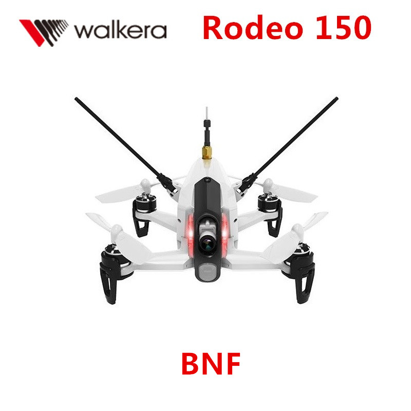 Walkera Rodeo 150 BNF Without transmitter RC Racing Drone with 600TVL Night Vision Camera 150 Size fx797t 5 8g 25mw 40 channel av transmitter with 600 tvl camera soft antenna for indoor fpv racing drone