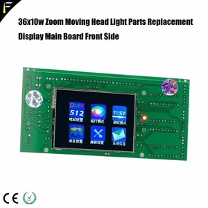 Image 3 - Panel de visualización de la placa base de repuesto LED Wash cabezal móvil 36x10W 4 en 1 con Tablero Principal de visualización de zoom y tablero de control LED