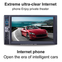 7 Car Radio Mp5 Player Bluetooth Mp5 Audio 720P Movie Support Rear View Camera 2 Din