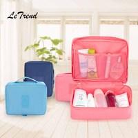 LeTrend Korean Mini Multifunction Travel Bag Fashion Women Bags Handbag Trolley Suitcase Women S Handbags