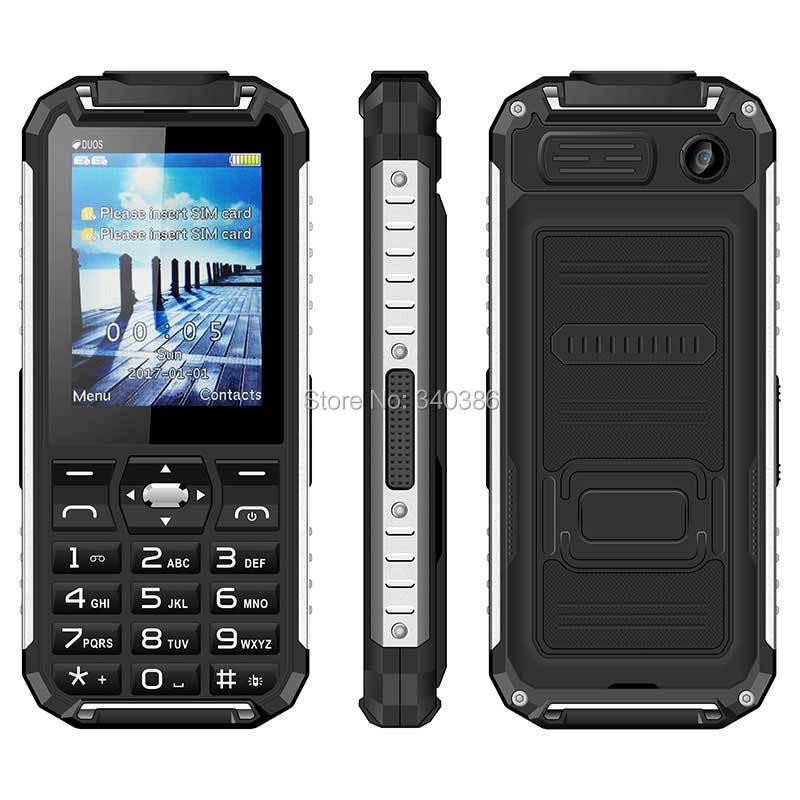 Цена за 5000 мАч Большой Аккумулятор Power Bank Dual Sim Карты Мобильного Телефона Oeina XP6000 2.4 дюймов Воспроизведение MP3 Двойной СВЕТОДИОДНОЙ Факел GSM Quad Band телефон