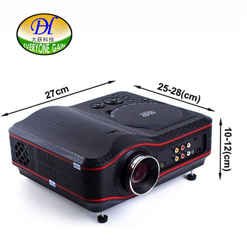 tv projector hd. everyone gain 3d tv projector hd dvd game multimedia player proyector led lcd home cinema business teaching tl91 beamer-in projectors from computer \u0026 office tv hd 0