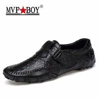 MVP 소년 새로운 디자인 2018 봄 여름 남성 플랫 신발