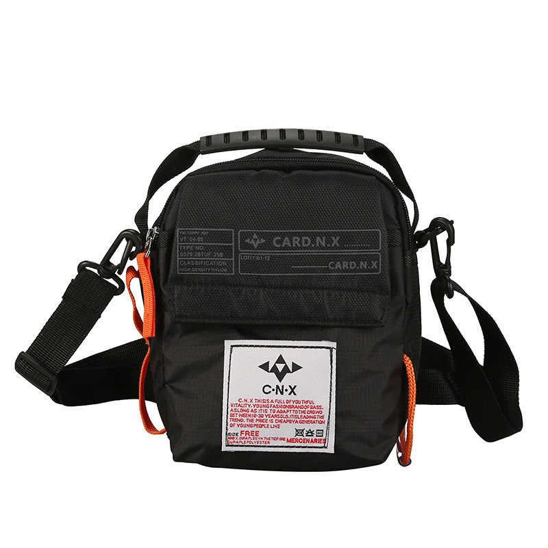 Mannen Messenger Bag Mannelijke Waterdicht Oxford Travel Hip Hop Streetwear Schouder Crossbody Handtas Casual Mini Aktetas