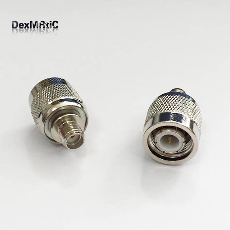 1pc TNC Male Plug to SMA Female Jack RF Coax Adapter convertor Straight Nickelplated NEW wholesale