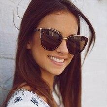 2ac91b0dcabce CORTINA de Senhoras Sexy Cat Eye Sunglasses Mulheres Marca Designer de Moda  de Nova Bonito Eyewear Óculos de Sol Do Vintage ocul.