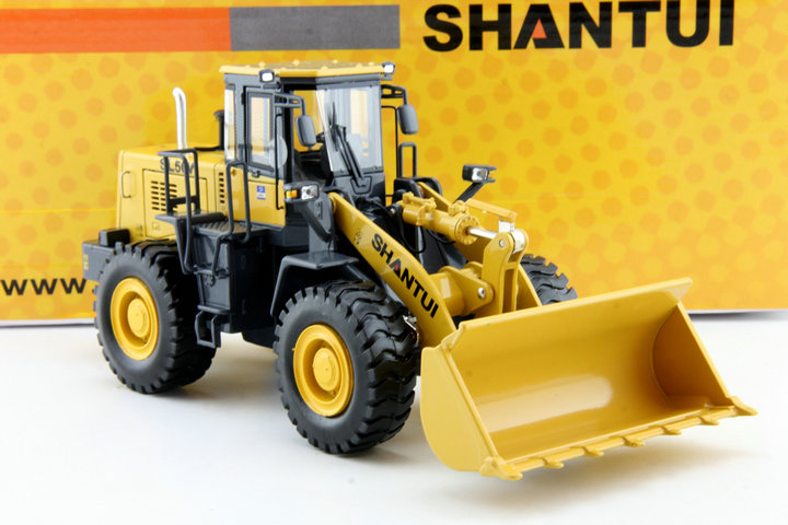 Made in China SHANTUI 1:35 SL50W Loaders forklifts model Alloy truck model Favorite Model managing projects made simple
