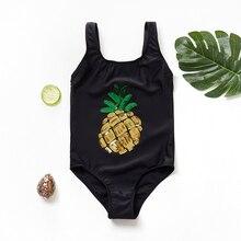 2019 NEW Girls Swimwear 7~13Years Children Swimsuit One Piece Girls Swimsuit Kid girls Bathing suit Beach wear- K517