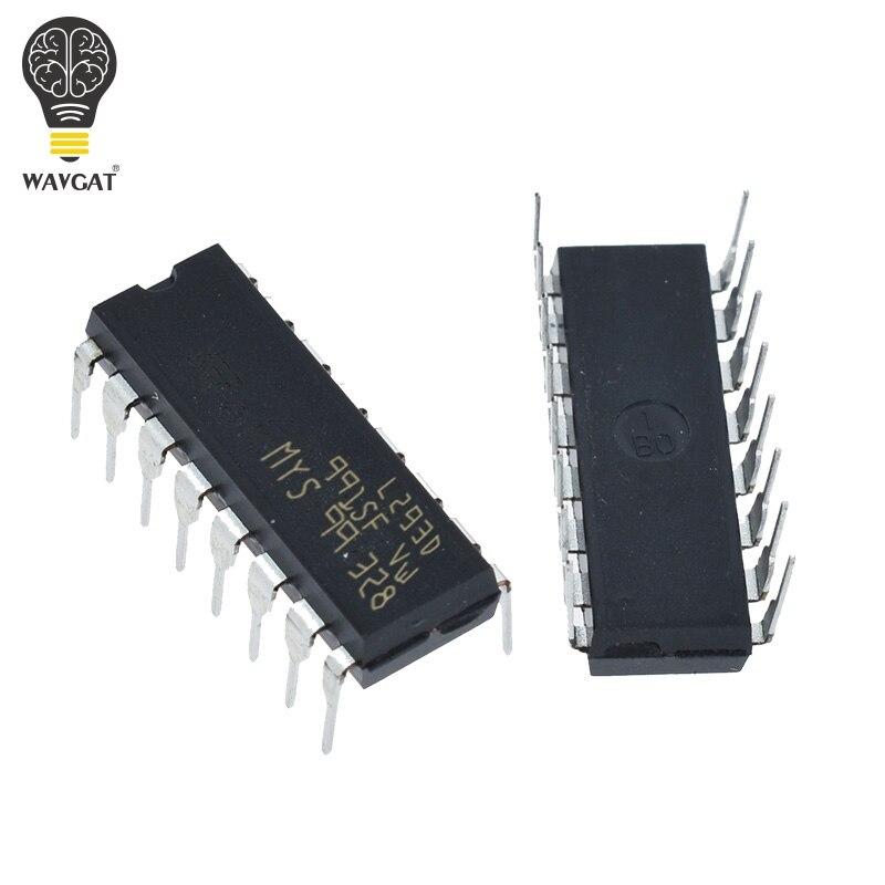 5 шт. L293 L293D DIP DIP16 DIP-16 IC драйвер двигателя Чип привода PAR PusH Pull 4-канальный модуль IC чипы