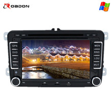 In Stock Car Video DVD Stereo Player VW Cars 7 Inch Car Gps With Gps,Radio,DVD,BT,USB,SD,Sterring wheel control,AUX IN