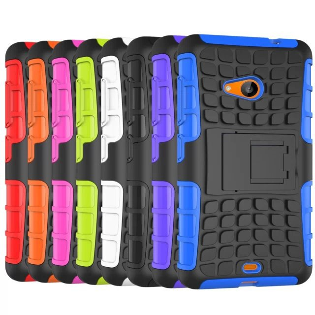 buy online 5537e 50398 US $5.5 |Armor Hard Case For Microsoft Lumia 535 Hybrid Stand Cover For  Nokia Lumia 535 Windows Mobile Phone Bags Shockproof on Aliexpress.com | ...
