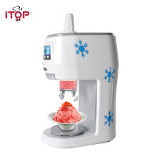 ITOP 300W Electric Snowflakes Ice Crusher Shaved Machine Fruit Juice Store Electric Smoothies Snow Ice Machine EU/US Plug automatic electric taiwanese shaved ice maker kakigori machine