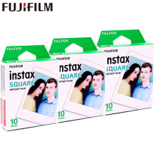 2017 Genuine Fujifilm Instax 30 Sheet SQUARE White Edge film Photo paper For SQ10 Hybrid share sp-3 SQ Camera