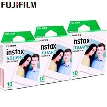 2017 Genuine Fujifilm Instax 30 Sheet SQUARE White Edge film Photo paper For Instax SQUARE SQ10 Hybrid share sp-3 SQ Camera