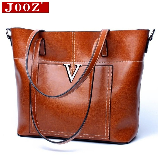 Women S Handbag Las Genuine Leather Bags V Designer Handbags Casual Tote Shoulder