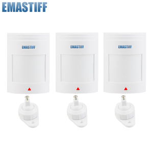 Image 1 - free shipping!3pcs/lot Wired PIR Motion Sensor Detector For GSM PSTN Home Security Alarm System