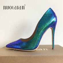 2019 Brand fashion women pumps high heel shoes for women sexy pointe toe high heels party wedding shoes woman 12cm/10cm/8cm(China)