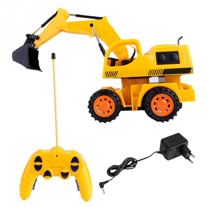 Responsible Construction Vehicles Simulation Remote Control Crawler Excavator Model Rc Truck Engineering Heavy Machinery Toy Boys Game Gifts Rc Trucks Remote Control Toys