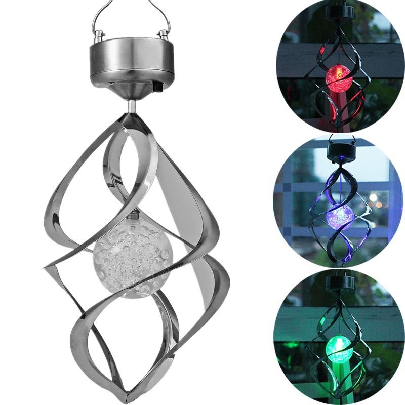 Hotest Color Changing Solar Powered Garden Light Outdoor