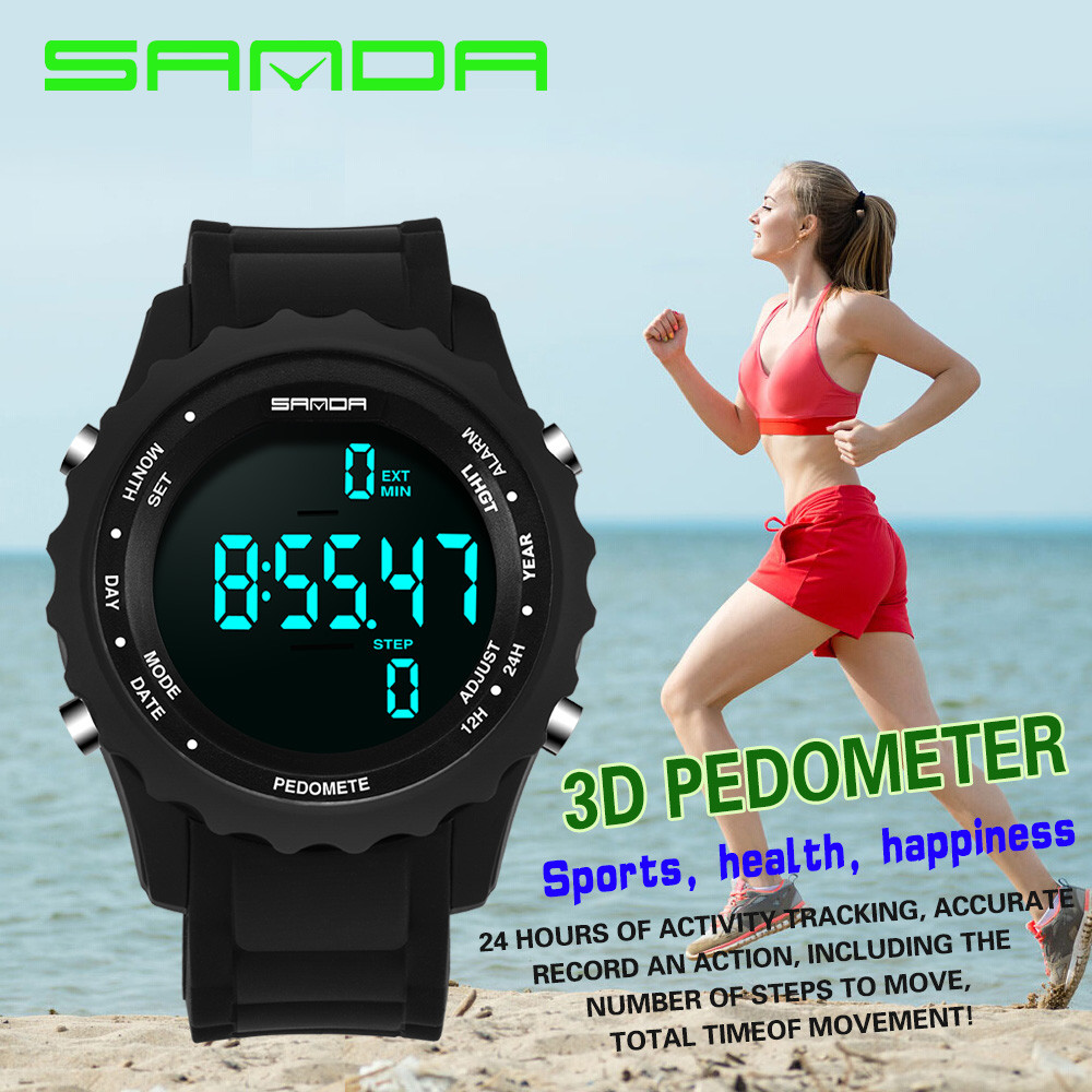 e5edda81d5a SANDA Super Slim Digital Watch Men Waterproof Men s Watches Ultra Thin  Military Sport Watch Relogio Masculino