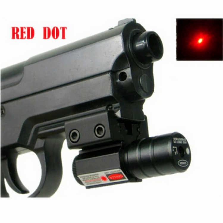 Spike JG5-1 Tactical Pistol mini 5mw adjustable mira red dot laser sight  for 11mm 20mm dovetail for hunting gun Picardine rail