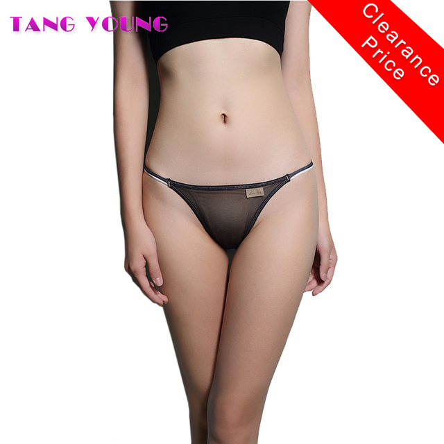 Girls Sexy Transparent Panties For Young Women Solid Female Panties Seamless Underwear Women Fashion Lady Briefs