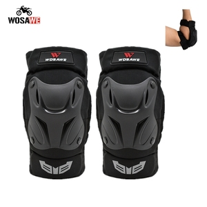 Image 1 - WOSAWE Motorcycle Elbow Pads and Knee Pads Adult Snowboard Volleyball Cycling Hockey Pads Arm Guard Protective Armor Gear