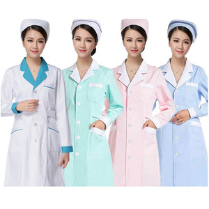 Nurse Uniform Hospital lab coat scrubs doctor Women Hospital Medical Scrub Clothes Uniform Design Breathable medical uniforms