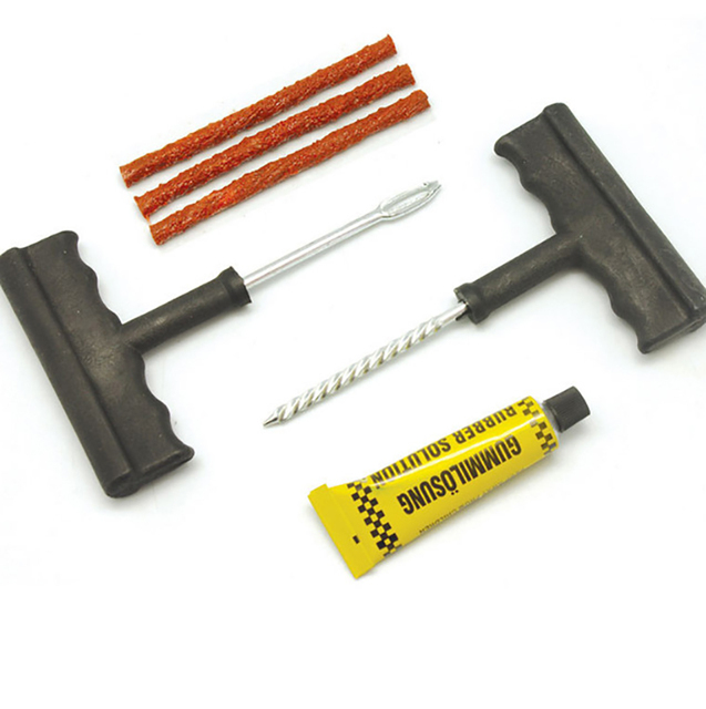 Tire Repair Kit >> Reras Car Bike Auto Tubeless Tire Repair Kit Tyre Puncture Plug