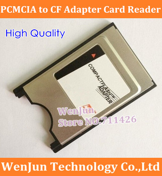 50PCS Free Shipping PCMCIA CF Adapter Card Reader Pcmcia To CF Compact Flash Card High Quality