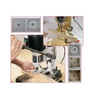 Image 5 - Binoax 4個角穴mortiserドリルビット木工ツイストドリルキットほぞ穴ドリルdiy木工ツール