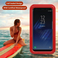 Underwater 10M IP68 Diving Waterproof Mobile Phone Case For Samsung Galaxy S8 S8 Plus 360 Full