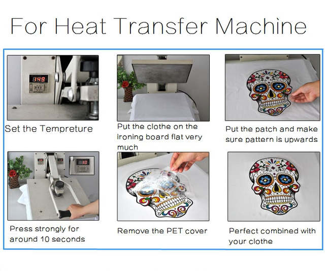 Verison Overwatch Game Heat Transfer Printing Hot Press