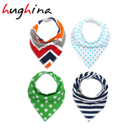 Hughina H921 Fashion Cartoon Bibs And Cotton Brup Cloths For Boy And Girls Bibs Burp Cloths