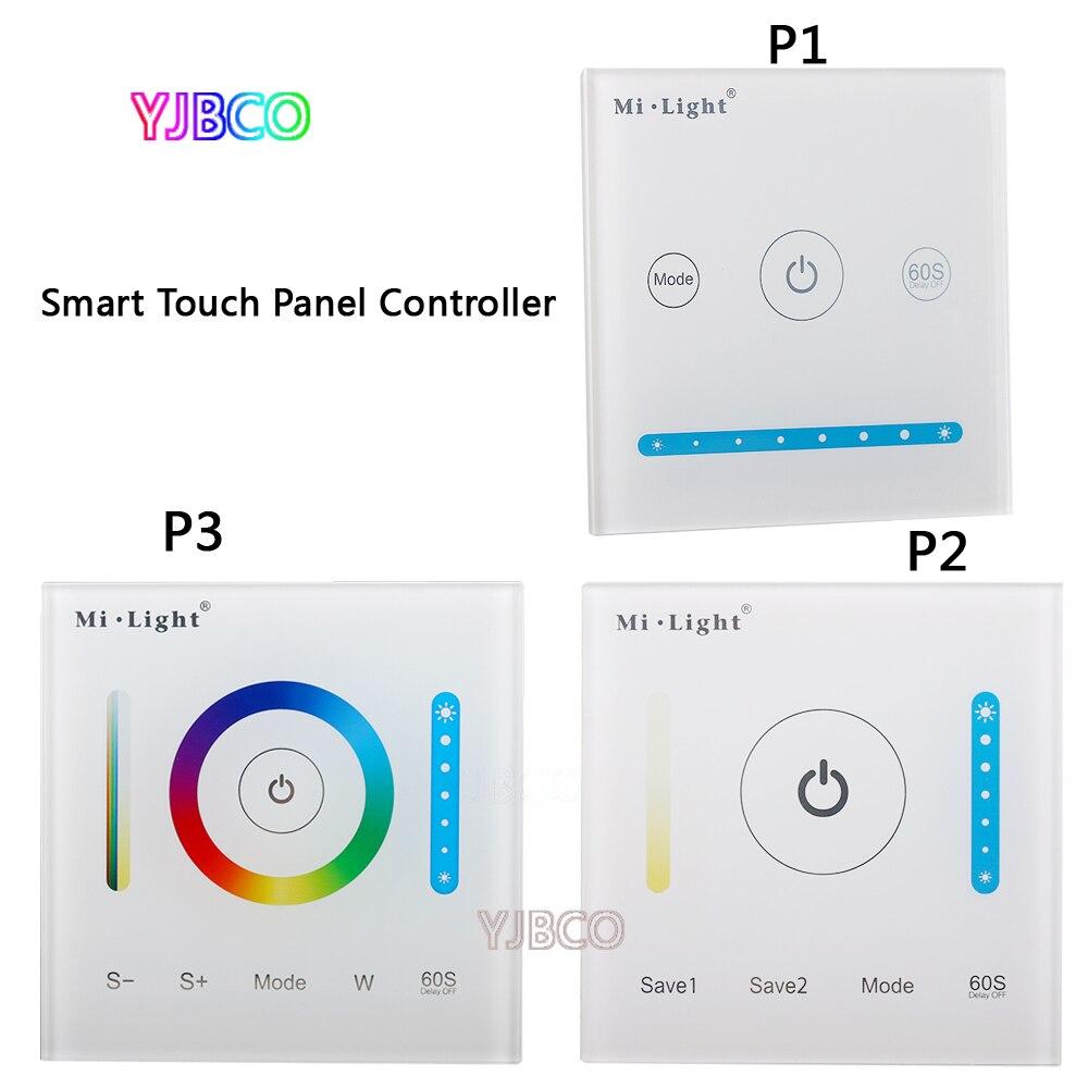Milight P1/P2/P3 led Smart Panel Controller Dimming Panel/RGB RGBW RGB+CCT Led Dimmer for Panel/Strip Light