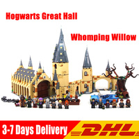 2018 LegoINGlys 75954 75953 75955 75952 71043 Harry Movie Potter Hogwarts Great Hall Whomping Willow House Kids Christmas Toys
