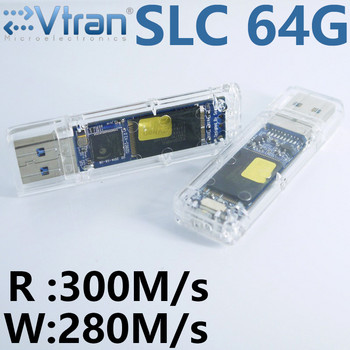 Read 300MB/s Write 280MB/s USB3.0 16G 32G 64G SLC USB3.0 FlashDisk Write protection High speed IS903 SLC Transparent SLC Disk