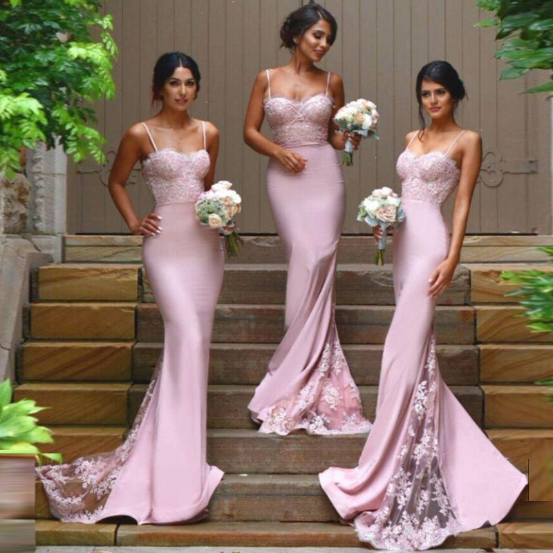 2016 new style sexy bridesmaid dresses spaghetti backless for Sexy lace wedding dresses