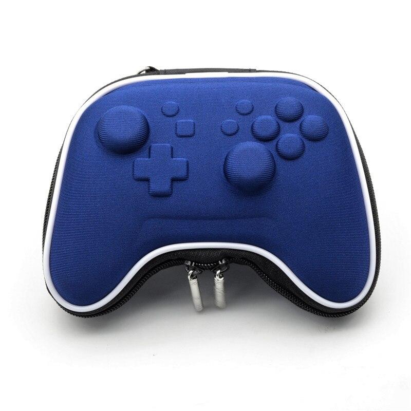 Купить с кэшбэком NS Switch Pro Controller Bag Case Travel Gamepad Carring Storage Pouch For Nintendo Switch Pro Controller Shockproof Hard Pack