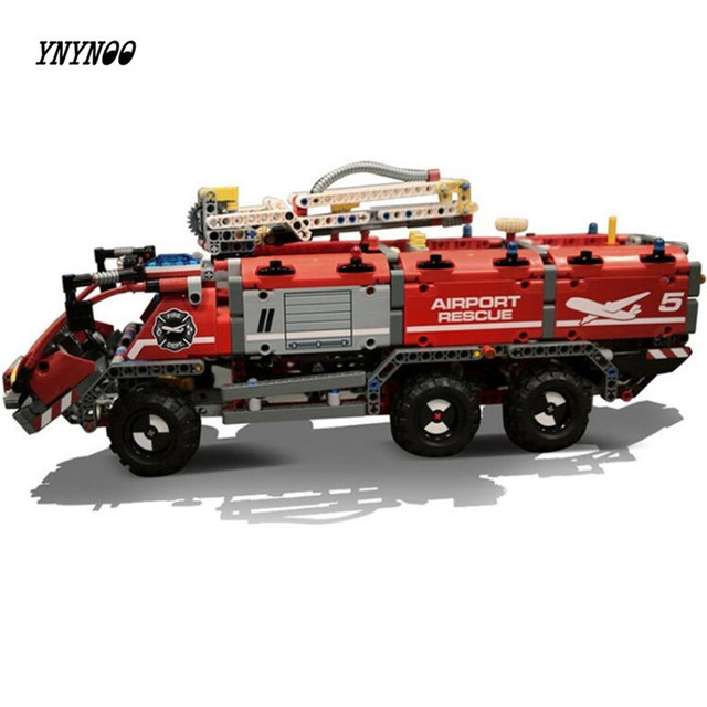 YNYNOO Lepin 20055 Genuine Technic Mechanical Series The Rescue Vehicle Set Children Educational Building Blocks Bricks Toys