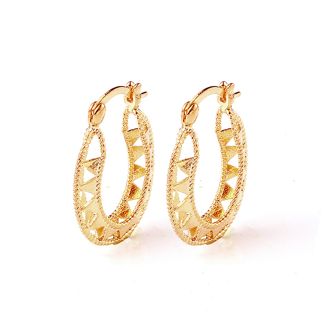 Plated Gold 2017 Fashion Hoop Earrings Wedding Korean Online Ping India Yy0316 Abc