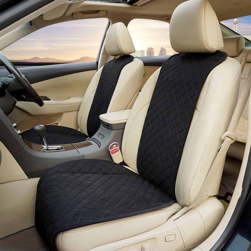 Rownfur Накидки на сиденья автомобиля  авточехлы  из алькантары  Автомобильные накидки  выполнены из высококачественного материала замши  накидки из алькантары защищают салон от потертостей и износа