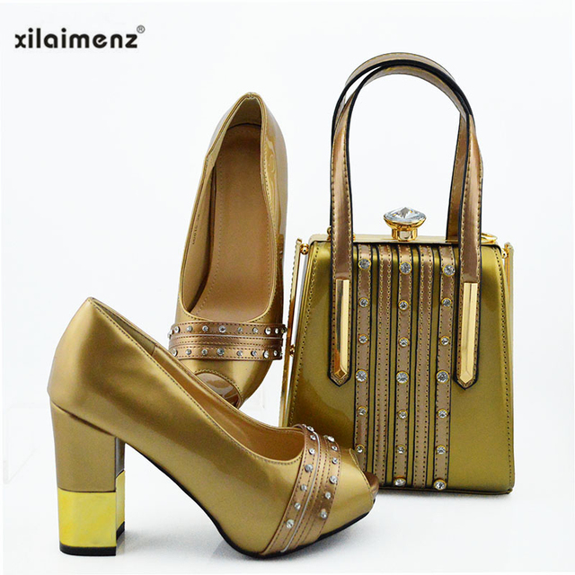 Black Color Royal Wedding Clutch Bag Match African Women Shoes and Bag Matching Set Italian Shoes and Bag Match To Party
