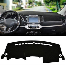 цена на LHD Car Dashboard Cover For KIA Sportage R 3rd 2011 2012 2013 2014 2015 Mats Shade Cushion Interior Protector Summer Accessories