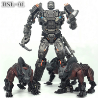 Transformation BSL 01 KO Version UT R 01 Steeljaw Lockdown Figure Toy W/3 Dogs